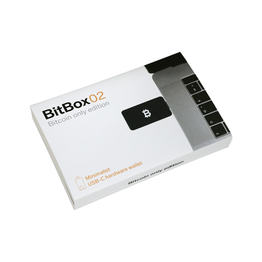 BitBox02 BTC Box