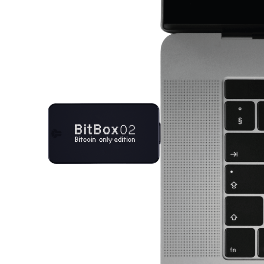 BitBox02 BTC Plugged In