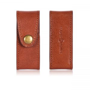 Ledger Nano S Leather Case Brown