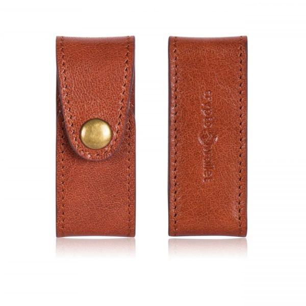 Ledger Nano S Leather Case Brown