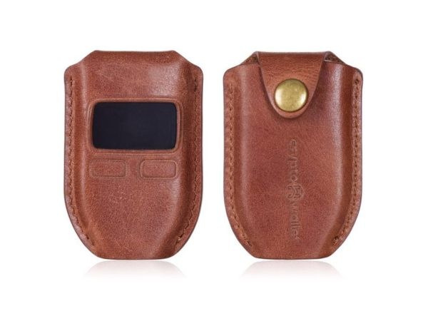 Trezor Leather Case Brown