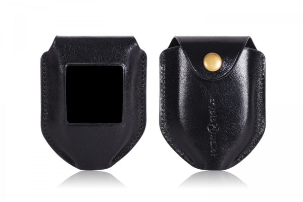 Trezor Model T Black Leather Case