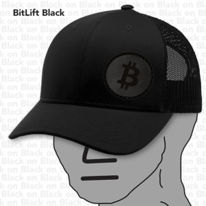 BitLift Black BTC Hat NPC