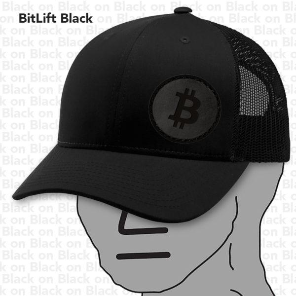 BitLift Black BTC Hat NPC