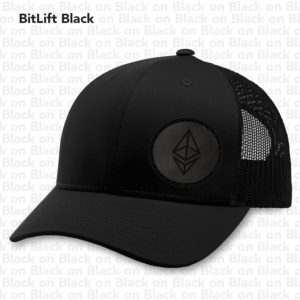 BitLift Black ETH Hat