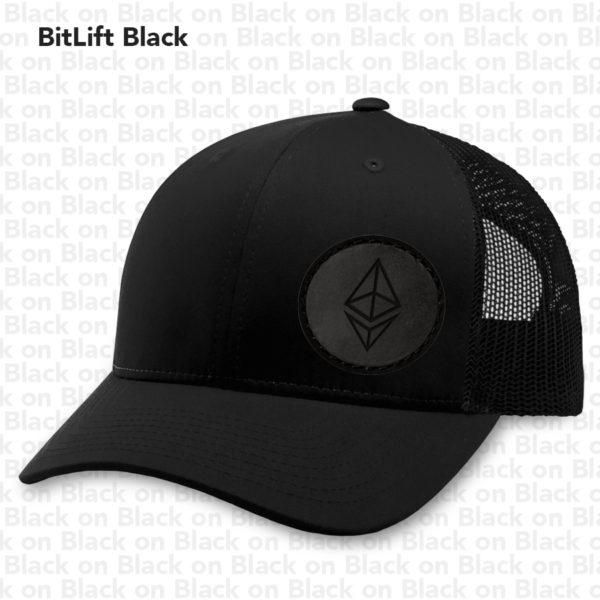 BitLift Black ETH Hat