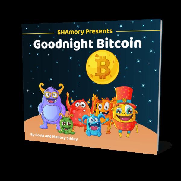 Goodnight Bitcoin Book by SHAmory